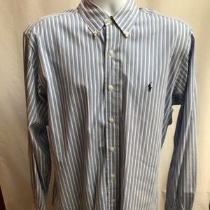 Ralph Lauren striped dress shirt classic fit
